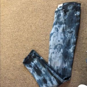 McGuire patterned skinny jeans